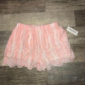 NWT pacsun LA hearts tie dye shorts (XS)